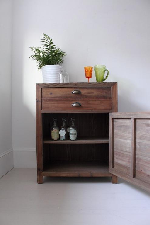 Single Rustic Pine Storage Cupboard Sideboards Amp Display