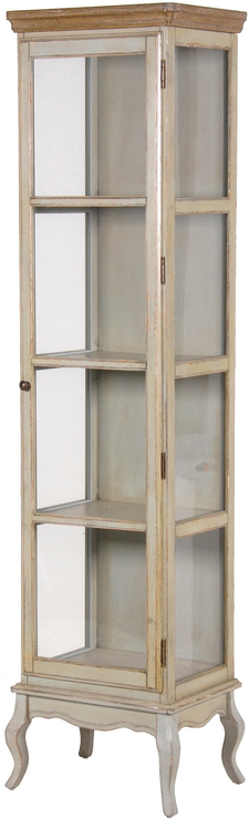 tall glass cabinet vintage look glass cabinet sideboards amp display 27010