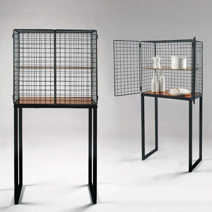 Seletti Wire Mesh Cabinet