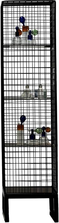 Seletti Narrow Wire Mesh Cabinet Image 2