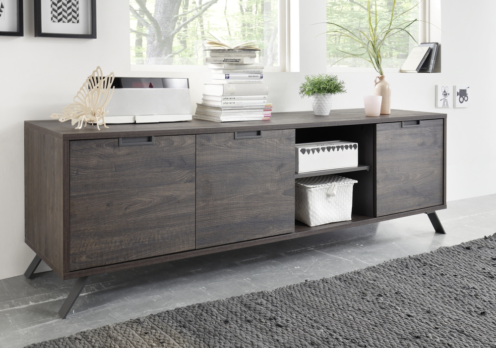 Palma Low Sideboard Wenge Sideboards Amp Display Cabinets