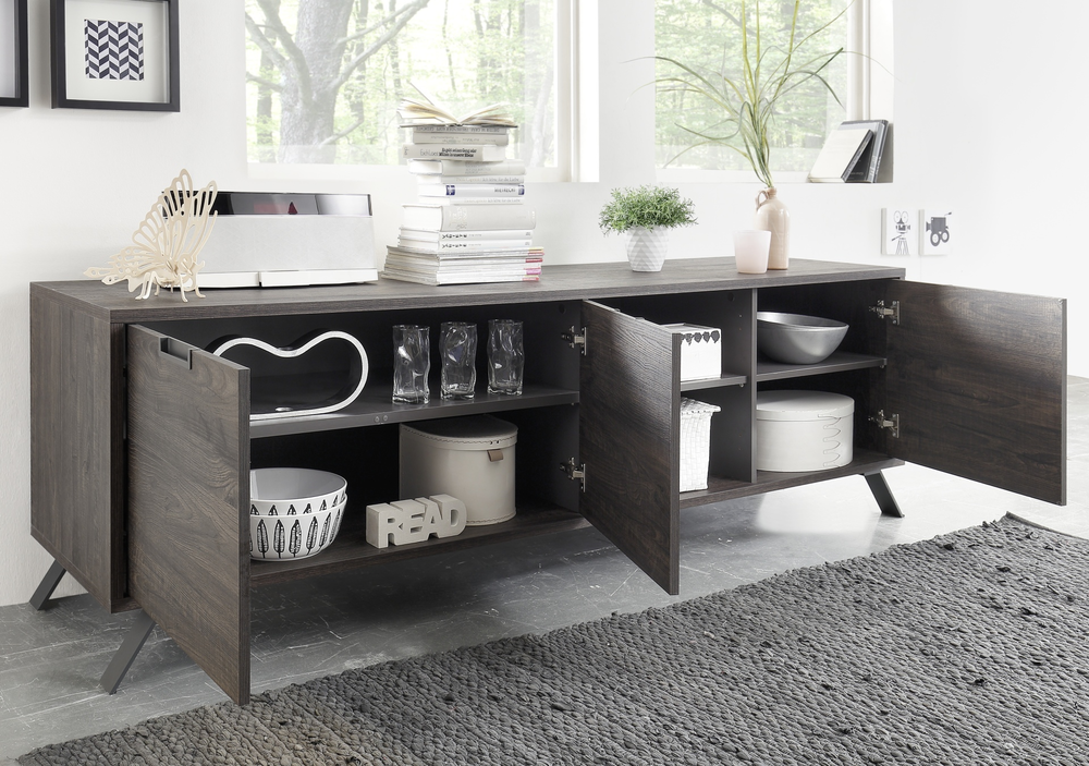 palma low sideboard wenge sideboards display cabinets. Black Bedroom Furniture Sets. Home Design Ideas