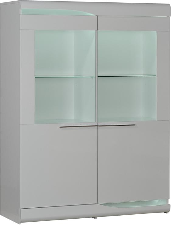 Ovio 2 Glass Door Display Unit Sideboards Display Cabinets