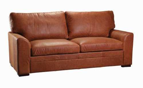 Seattle Three Seater Sofa Vintage Leather or Fabric