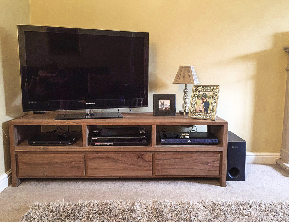 Tv And Media Units Part - 21: The U0027Gerupuku0027 Reclaimed Teak Wood TV Unit