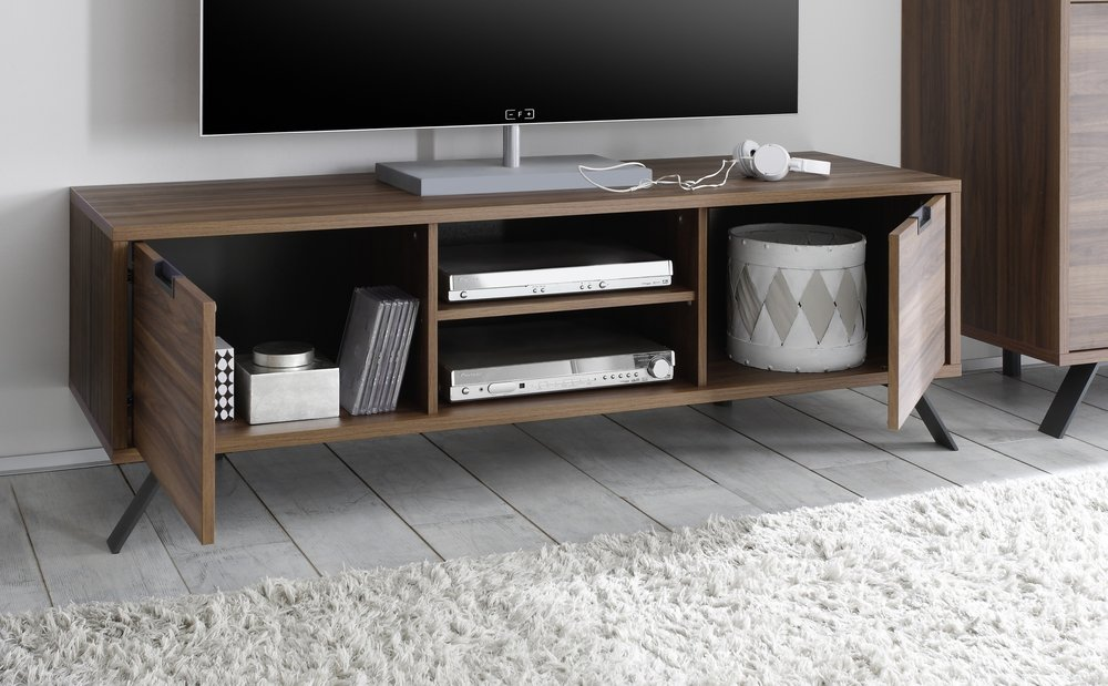 Palma TV Unit Walnut TV amp media units : tv media units 2883202 from furnish.co.uk size 1000 x 619 png 729kB