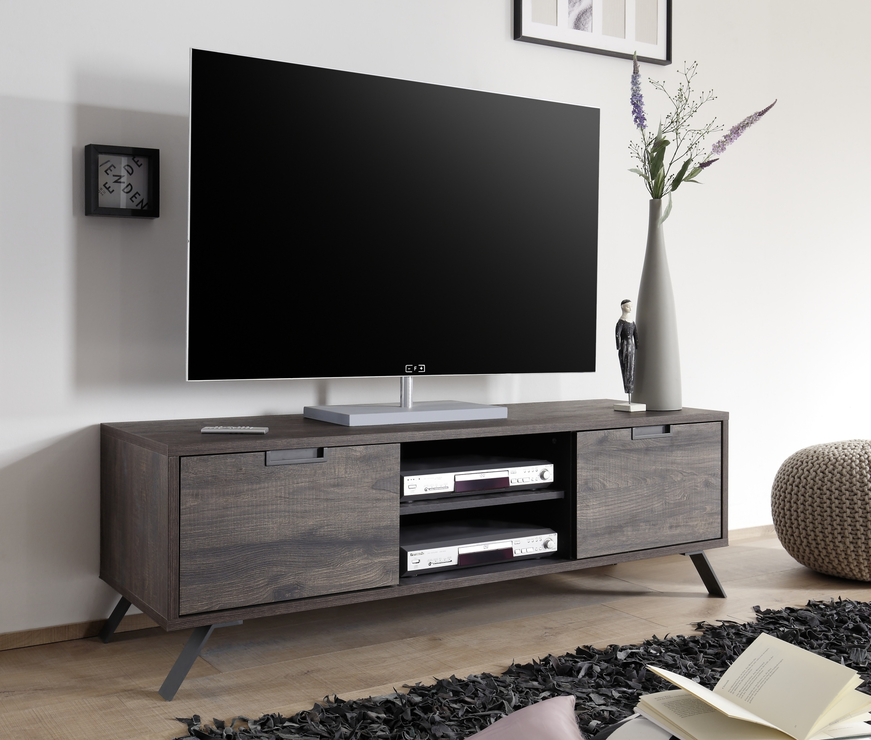 Palma tv unit wenge finish tv media units for Mobilier stand