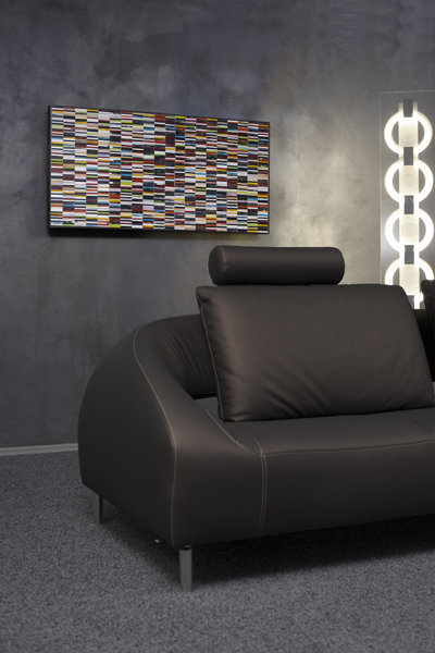 Sequence Piaggi Decorative Glass Mosaic Panel Wall Art