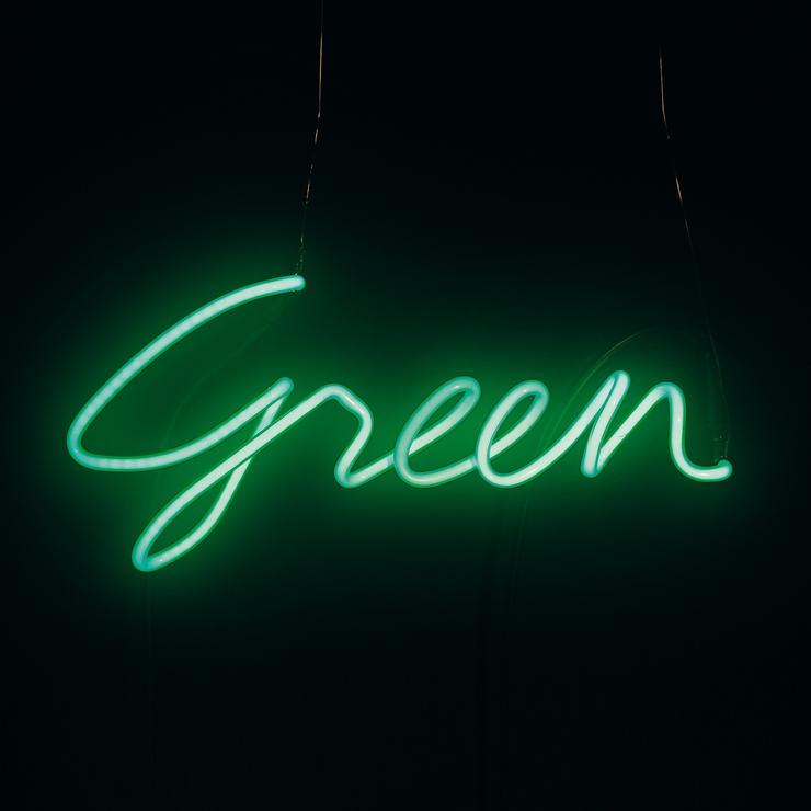 Seletti Neon Colour Word Lamp Wall Art