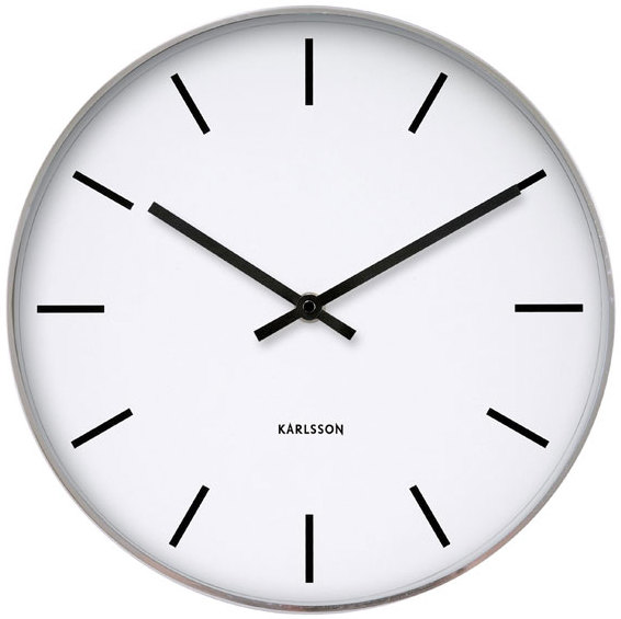 Red Kitchen Wall Clocks Uk