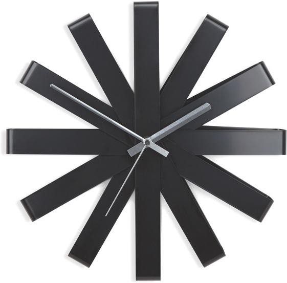 Black And Silver Wall Clocks