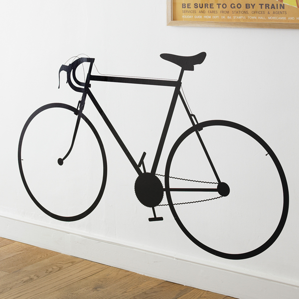 racing bike wall sticker | wall stickers