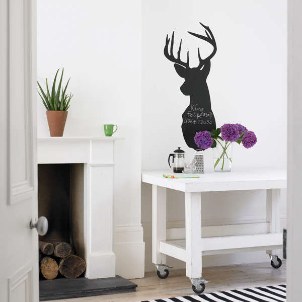 stag blackboard wall sticker wall stickers removable whiteboard white blackboard blackboard vinyl