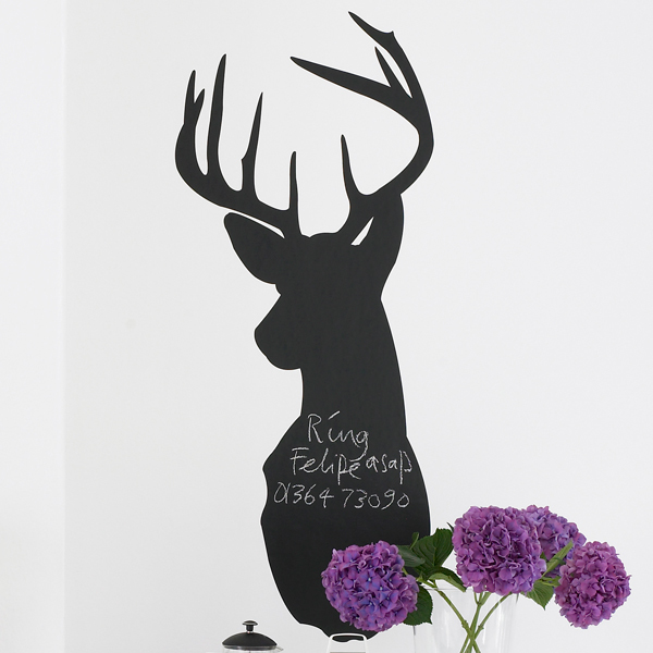 stag blackboard wall sticker wall stickers 23 x 17 blackboard wall sticker 212 removable vinyl wall
