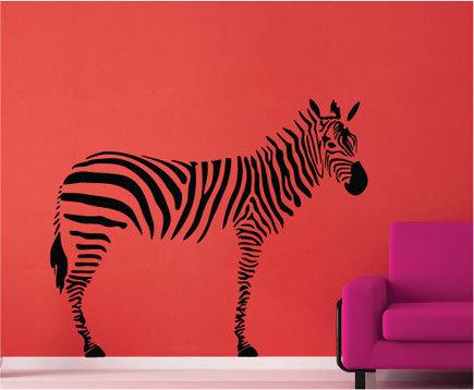 zebra wall sticker wall stickers wall stickers for girls room foter