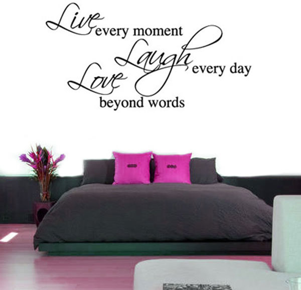 Live Laugh Love Wall Sticker   Large