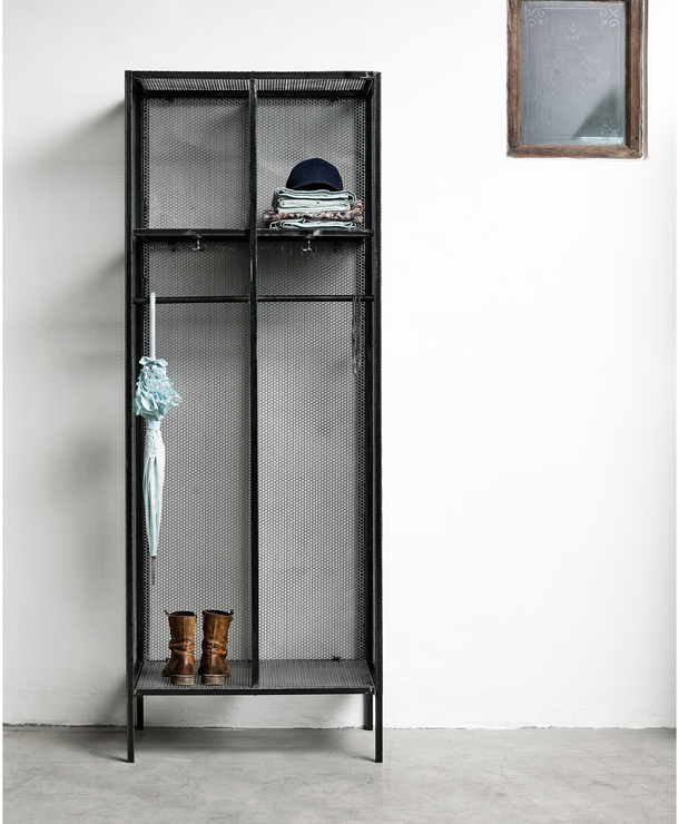 Industrial Open Wardrobe By Nordal Wardrobes