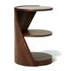 Tom Schneider DNA Single Strand lamp table by Tom Schneider