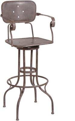 Industrial Factory Bar Stool
