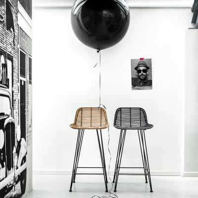 Rattan Bar Stool image 2