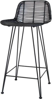 Rattan Bar Stool image 4