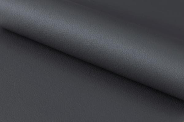 Plump swivel barstool leather adjustable grey or taupe image 7