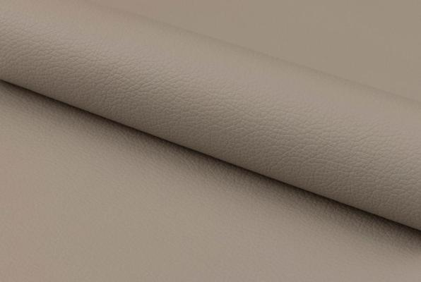 Plump swivel barstool leather adjustable grey or taupe image 8