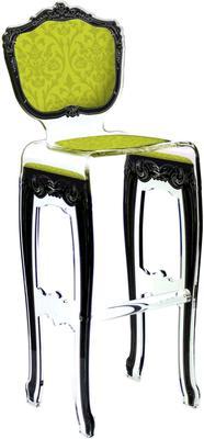 Acrylic Baroque Bar Stool image 7