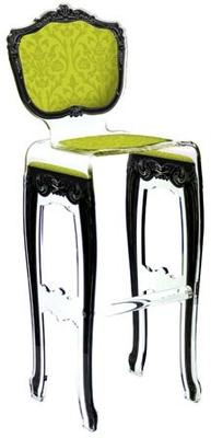 Acrylic Baroque Bar Stool image 2