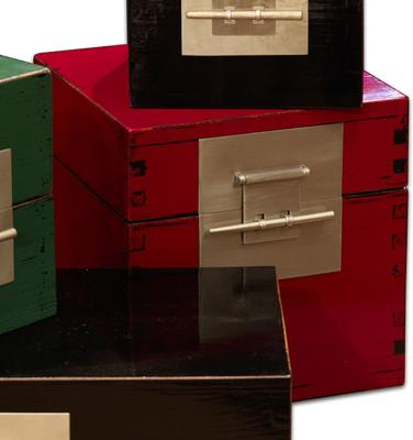 Large Cube Lacquer Box image 2