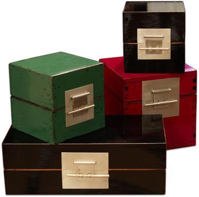 Small Cube Lacquer Box
