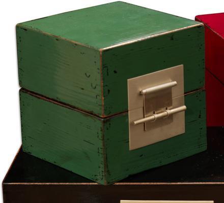 Small Cube Lacquer Box image 2