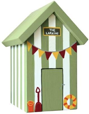 Handmade Beach Hut Keepsake Box