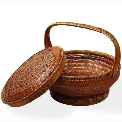 Woven Bamboo Basket image 2
