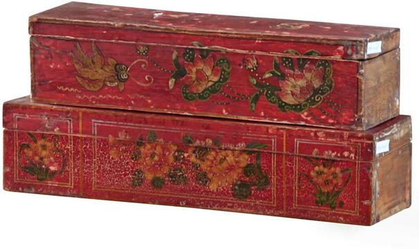 Mongolian Painted Box
