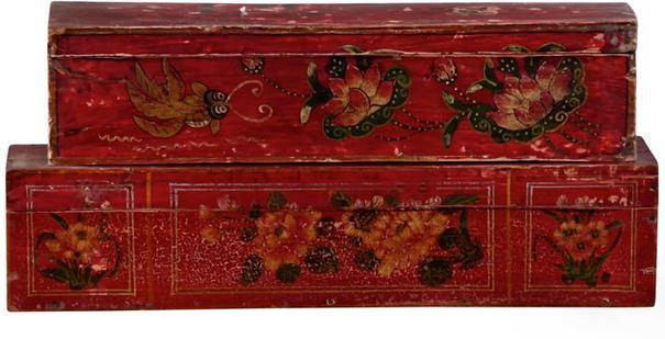 Mongolian Painted Box image 2
