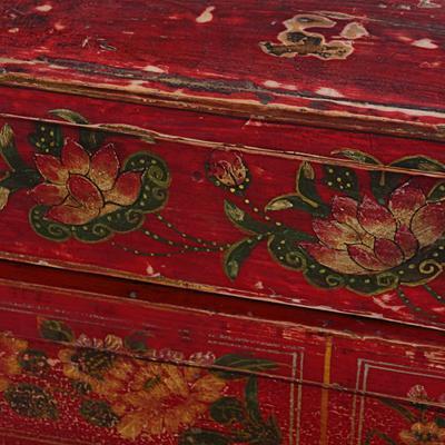 Mongolian Painted Box image 3