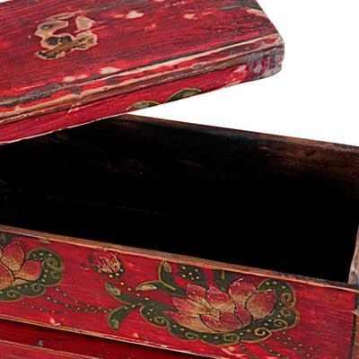 Mongolian Painted Box image 4