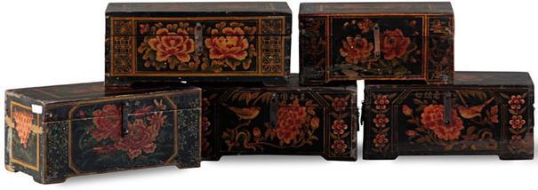 Shanxi Black Painted Box image 2