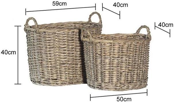 Two Wicker Baskets image 2