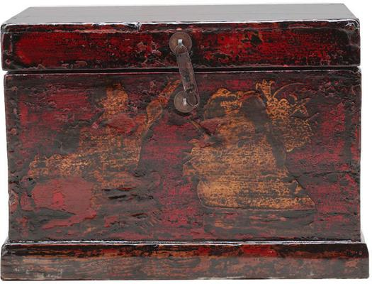 Painted Box with Figures image 2