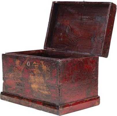 Painted Box with Figures image 3