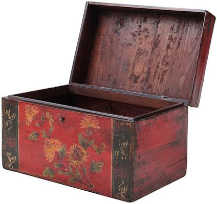 Painted Box with Flowers image 3