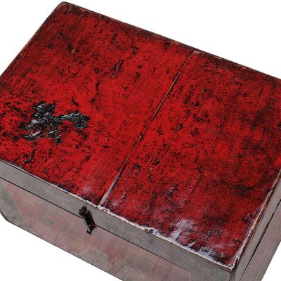 Painted Box with Flowers image 4