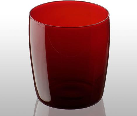 Midnight Tumbler Red Glass
