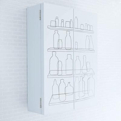 Inside Out Bathroom Cabinet with Double Door image 3