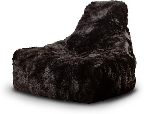 Mighty-b Big Furry Bean Bag - Brown