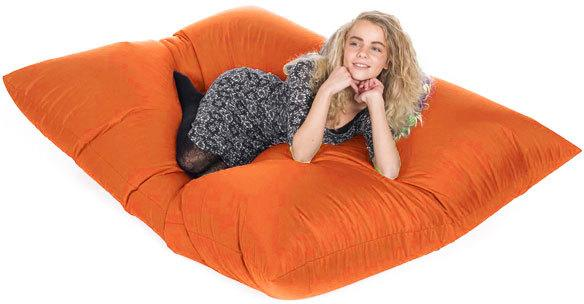 Slab Bean Bag - Orange