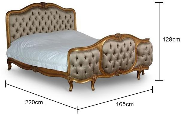 French Kingsize Bed image 2
