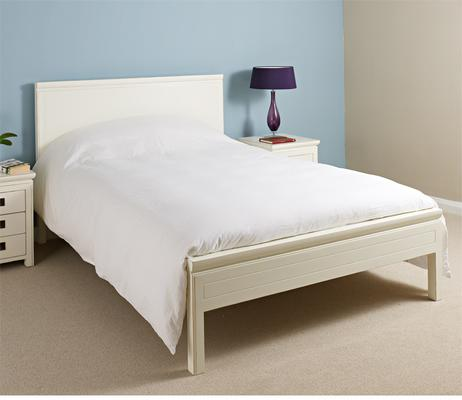 White Lacquer Bed image 2